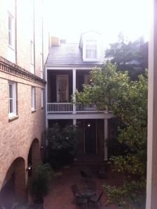 Hotel courtyard 680