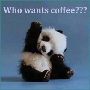 I want coffee