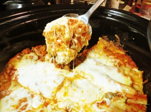 crockpot-lasagna