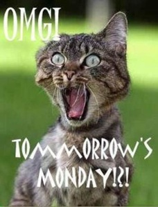 OMG Tomorrow Monday