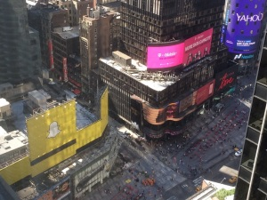 Times Sq window