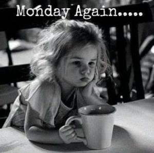 Monday again coffee girl