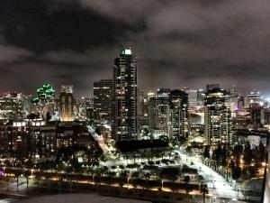 1st night balcony city