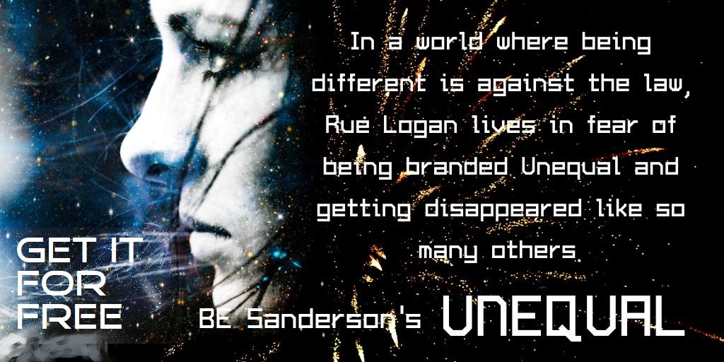 Unequal free graphic-BESanderson